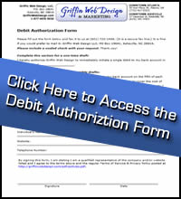 Click here to print the Debit Authorization Form.