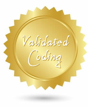 We validate our website coding to be error-free, according to the World Wide Web Consortium (W3C).
